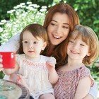 "How I Met Your Mother star Alyson Hannigan: ""This year I am thankful for being a mom to the best two girls on the planet."""