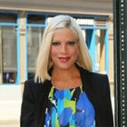 Tori Spelling adores baby number four