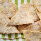 Crispy cinnamon-sugar tortilla chips