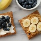 A toast to healthy snacking