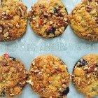 Phantom Rhubarb Muffins