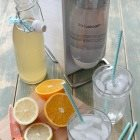 Staying hydrated with homemade sodas