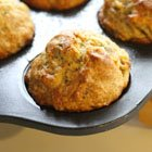 Good-to-Go Banana-Flax Muffins