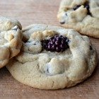 12 Days of Cookies: Chewy Dark Chocolate & Blackberry Cookies