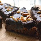 Maple Nut Fudge Brownies