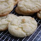 Chewy Lemon Crackle Cookies