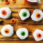 How to Make Eyeball Doughnuts