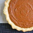 Ginger & Brown Sugar Pumpkin Pie