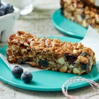 Back to School Blueberry Granola Bars