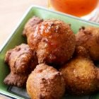 Corn Fritters with Chili-honey Butter