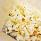 DIY Microwave Popcorn - in a paper lunch bag!