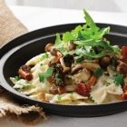 Chef Dave Bohati's Wild Mushroom Mac & Cheese
