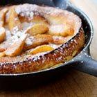 Puffed Apple Pancake for Easter Brunch