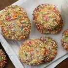 Sprinkle-Coated Sugar Cookies