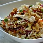 Leftover Turkey Noodle Salad