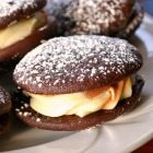 Chocolate Whoopie Pies with Cream Cheese Frosting
