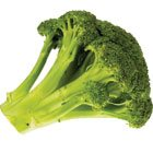 Broccoli and greens make a comeback