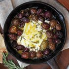 Roasted feta & olives