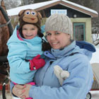 Embracing the snow with a winter stay at The Briars