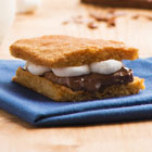 Becel's Anything Goes Cookie Dough S'mores Bars