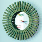 Clothespin sunburst mirror and clothespin airplanes