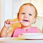Check the iron levels on your baby's food