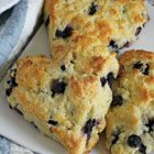 Berry and white chocolate chunk scones