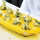 Swiss chard and ricotta tortelli