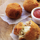 Leftover rices makes great arancini
