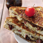 Bacon Jam & Grilled Cheese Sandwich