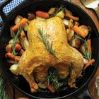 Real Food Fast: Roast chicken with potatoes & veggies and Homemade chicken soup