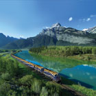 A mother and son journey aboard the Rocky Mountaineer