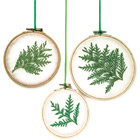 Seasonal window hangings