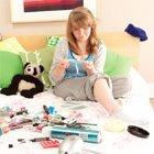 Messy teen rooms aren't worth yelling about