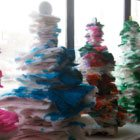 Stackable-paintable trees