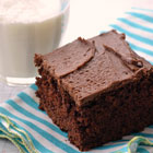Barley Chocolate Cake