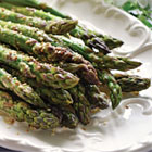 Prairie influence: Elna Edgar's marinated asparagus with sesame-ginger vinaigrette