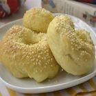 Beany bagels (or pretzels)