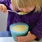Cauliflower-parsnip soup with mustard seeds