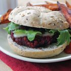 Beet and Kidney Bean Burgers