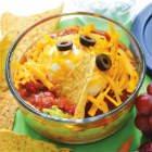Mini layered taco dip