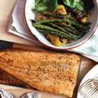Maple Cedar Planked Salmon and Veggies