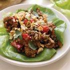 Hoisin Pork Lettuce Wraps & Sticky Toffee Banana Sundaes