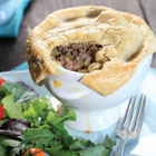 Tourtiere Pot Pies with Gluten-Free Pastry