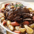 Pot Roast and Berry Crumble
