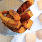 Roasted cinnamon sweet potato fries