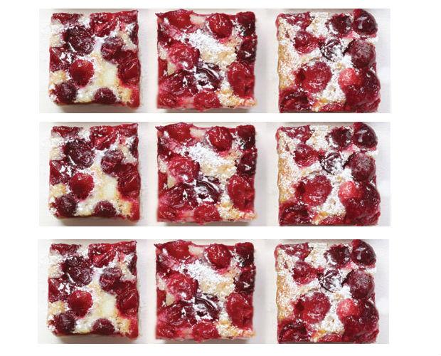 Cranberry Lemon Squares