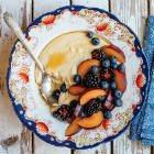 Maple Millet Polenta Porridge
