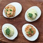 Not your Grandma's deviled eggs