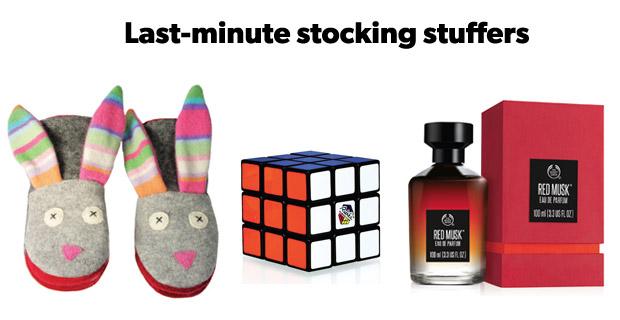 Last-minute stocking stuffers
